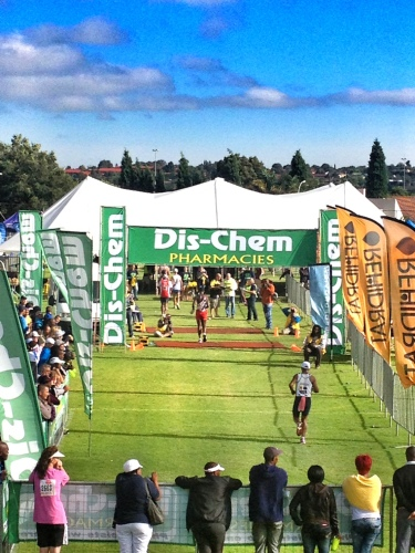 Finish line - Dischem