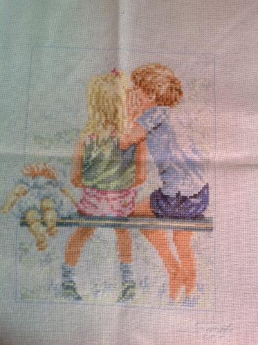 Secrets cross stitch