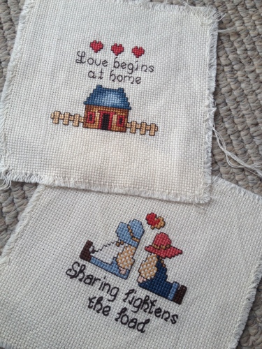 The cross stitch kit that started it all