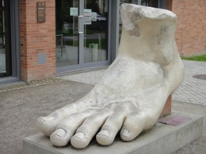 Constantine's The Great Foot