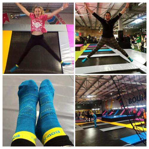 Fun at Bounce, Waterfall Estate (and yes, even i put my socks on & gave it a try!)