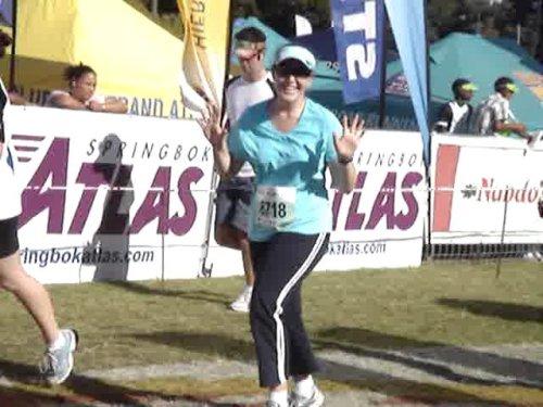 Two Oceans half marathon 2008