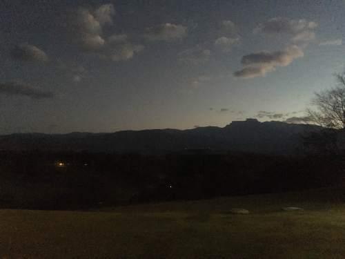 Drakensberg Sports Resort sun setting
