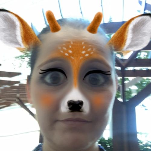 deer snapchat filter