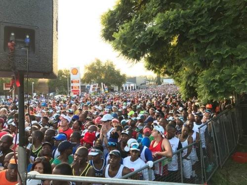 Start line race